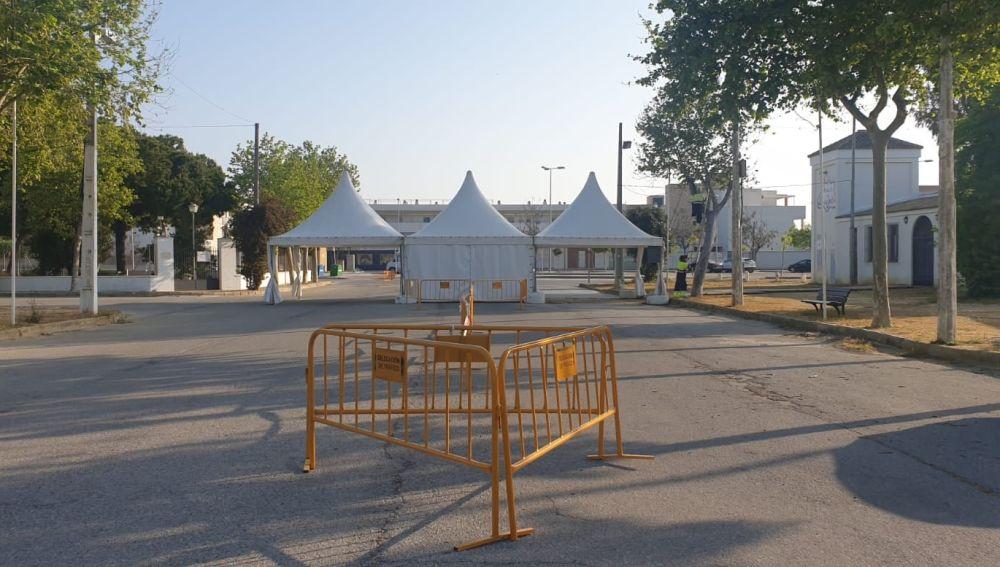 El recinto ferial de Rota ya está operativo