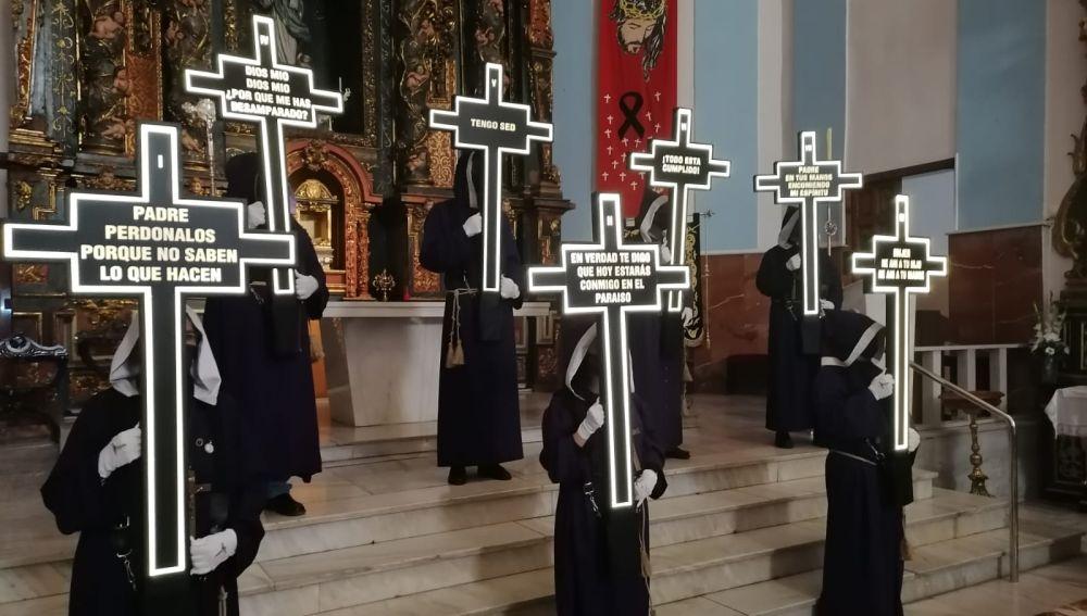 Acto organizado por la Junta de Cofradías de Albacete