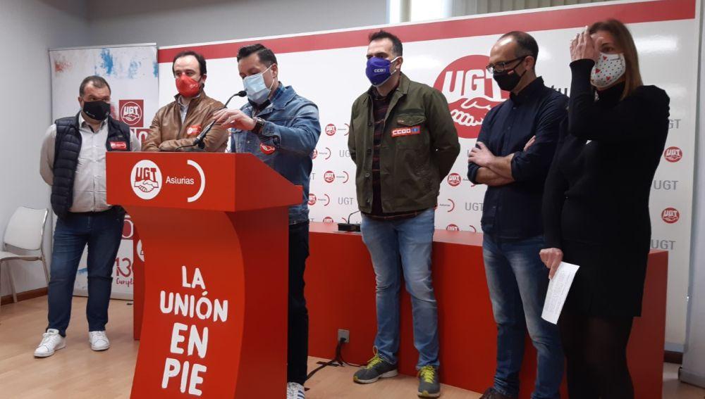 UGT y CCOO responsabilizan a Pedro Sánchez de la 'emergencia industrial' de Asturias