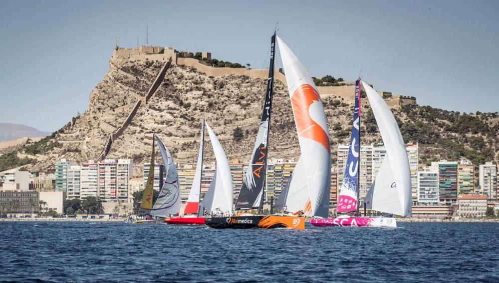 Una salida de la Vuelta al Mundo a Vela desde Alicante