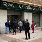 Oficina de empleo en Logroño
