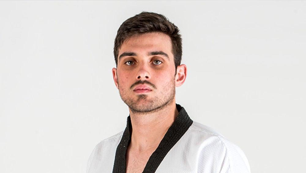 El catralense Daniel Rosa, miembro de la selección española de taekwondo.