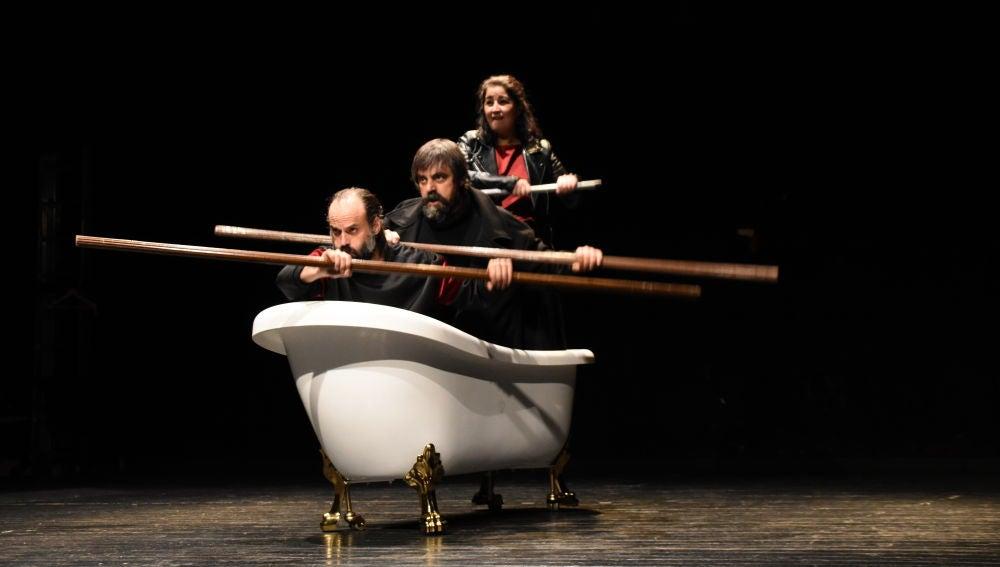 'Conquistadores', una visión jocosa y desmitificadora de la conquista de América contada por extremeños, se estrena el domingo en el Gran Teatro de Cáceres