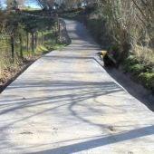 Concluye la mejora del camino Los Cándanos-Cerezal