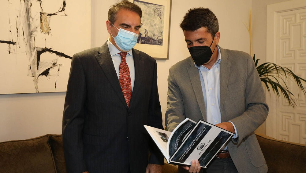 Francesco Balbi y Carlos Mazón