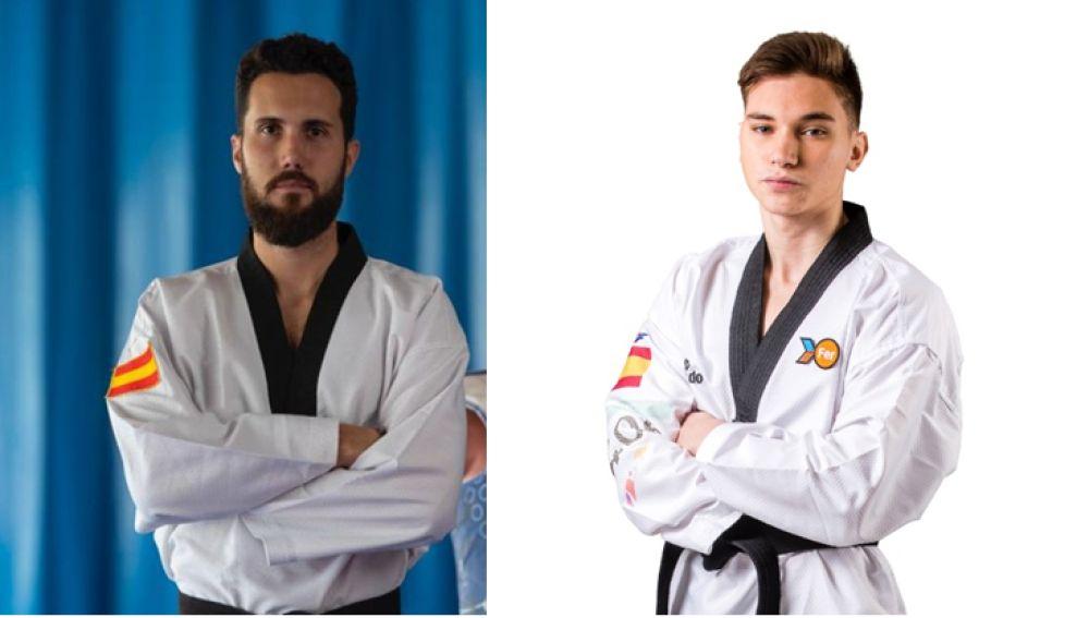 Los ilicitanos Raúl Martínez  Hugo Arillo compiten en el Europeo de taekwondo.