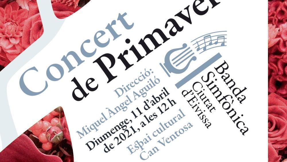 El auditorio de Can Ventosa acoge el Concierto de Primavera de la Banda Sinfónica Ciudad de Ibiza