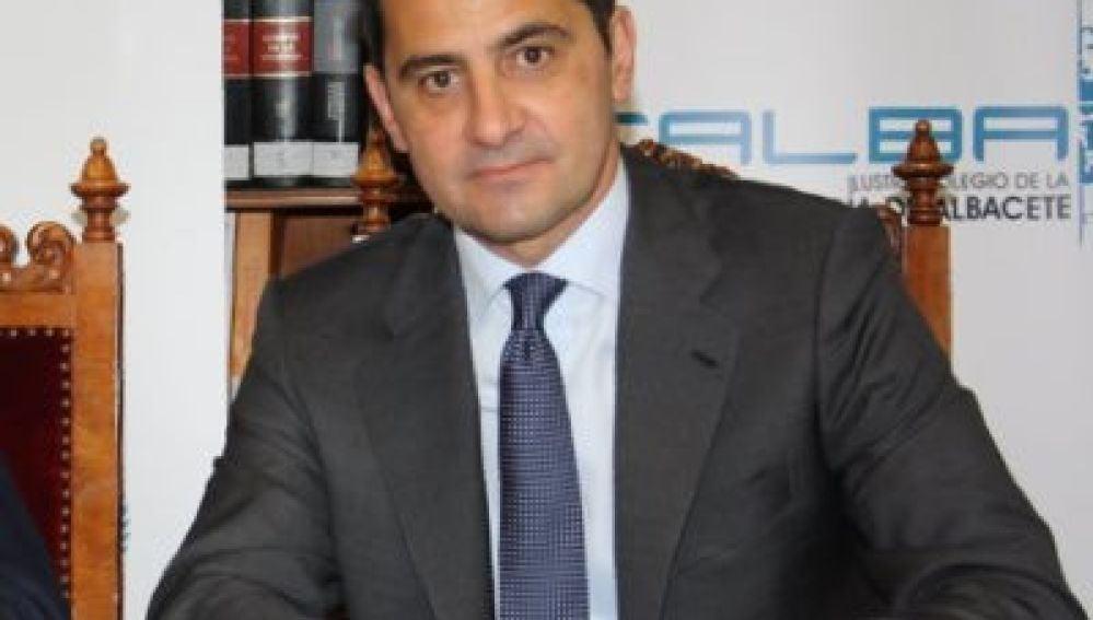 Albino Escribano, presidente del Colegio de Abogados de Albacete