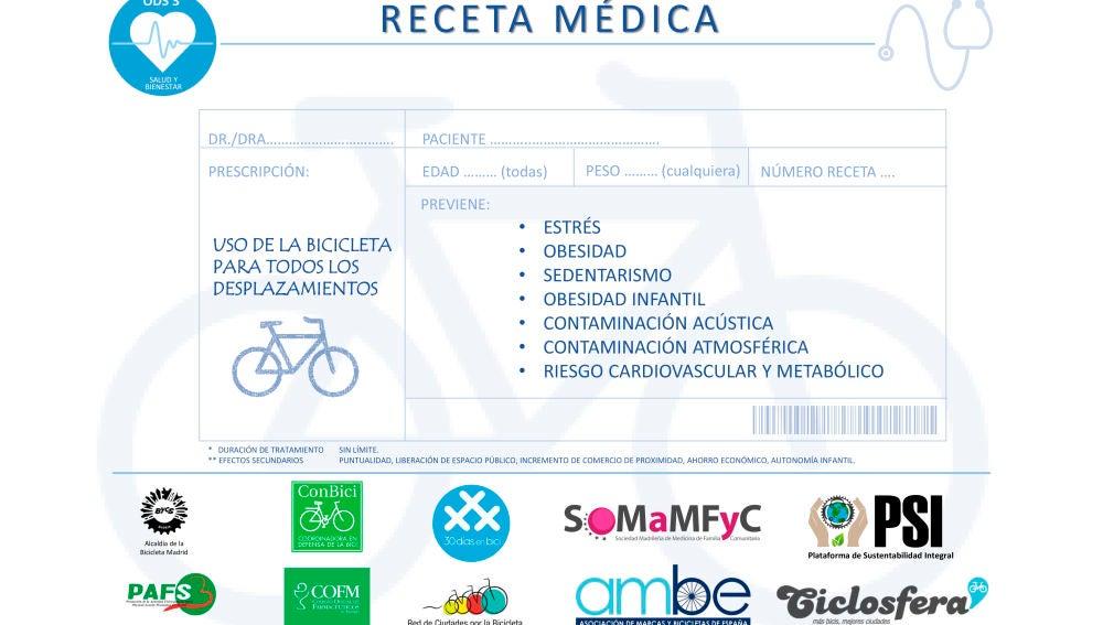 Receta Bicicleta