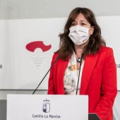 Blanca Fernández, portavoz y consejera de Igualdad