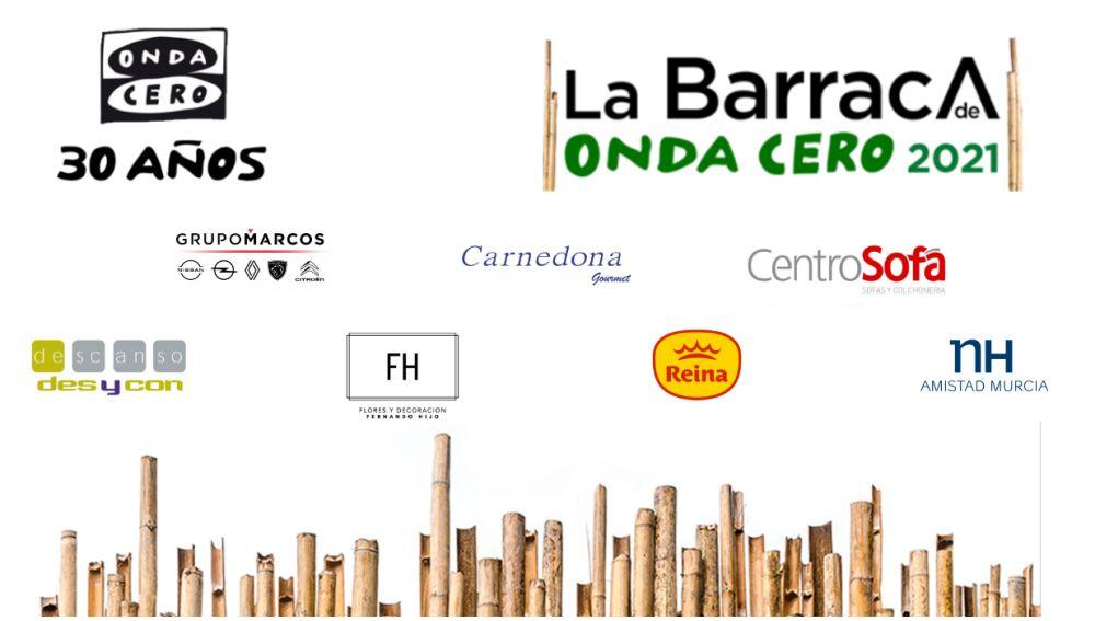 """La Barraca de Onda Cero: """"Más de Uno Murcia"""" rememora el espíritu de las Fiestas de Primavera en el NH Amistad"""