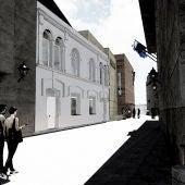 El arzobispado de Oviedo propone un edificio de dos plantas para Santa Ana