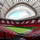 Estadio San Mamés, donde se disputarán partidos de la Eurocopa 2020