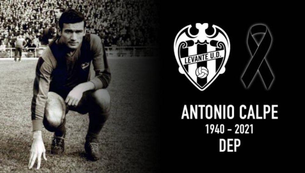 Antonio Calpe nos dijo adiós