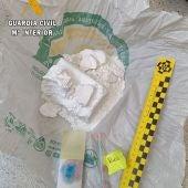 Dos detenidos en Mieres por transportar cocaína