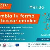Cartel Lanzadera Conecta Empleo