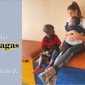 Orfanato en Uganda.