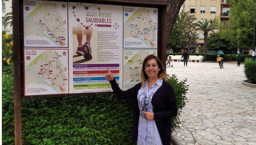 Aspe crea sus primeras cuatro rutas urbanas, pertenecientes al Plan de Rutas Saludables
