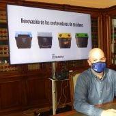 Nuevos contenedores de residuos en Segovia