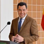 El presidente andaluz, Juanma Moreno, la semana pasada.
