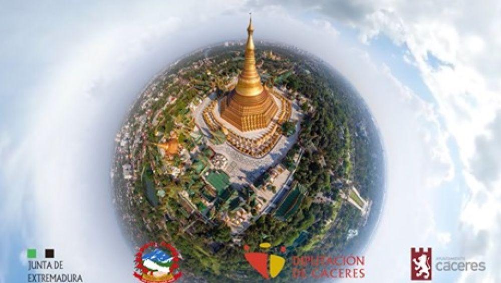 Cáceres y Lumbini (Nepal) firman este jueves el hermanamiento que propiciará el futuro templo budista