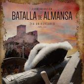 Cartel de la Batalla de Almansa 2021