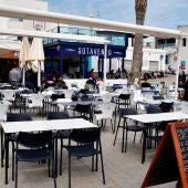 La terraza de un restaurante en Almería