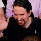 El exvicepresidente segundo del Gobierno, Pablo Iglesias