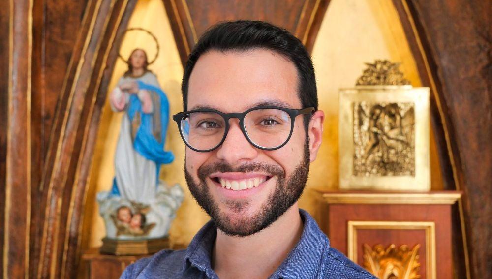 El joven de 30 años Fernando-Elías Pérez-Esteban Picazo será ordenado diácono como fase previa al sacerdocio