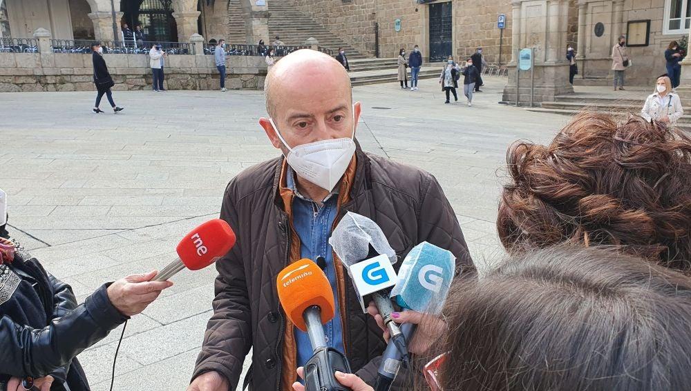 Araújo acusa al PP de hacer un ejercicio de cinismo en materia termal