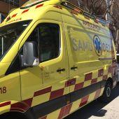 Una ambulancia del 061 en Mallorca.