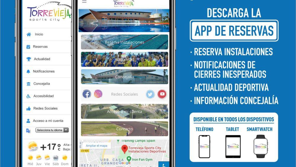 La concejalía de Deportes apuesta por la innovación al crear una aplicación móvil, gratuita, multidioma, totalmente accesible y para todos los dispositivos iOS y Android