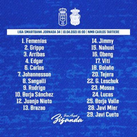 Convocatoria del Real Oviedo