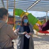 Os traballos de renovación das zonas lúdicas infantís en Allariz seguen o seu curso