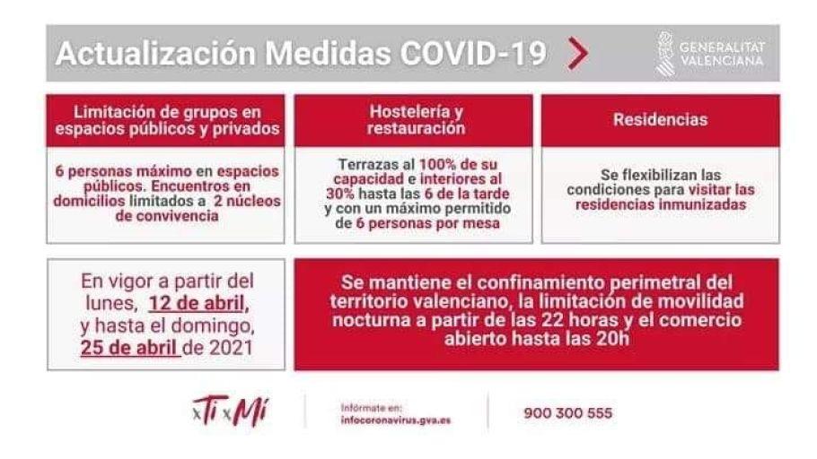 """El president ha señalado que la Generalitat estableció hace 25 días """"el marco normativo más cauteloso"""" de las 17 comunidades"""