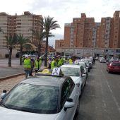 Concentración de autoescuelas en Alicante