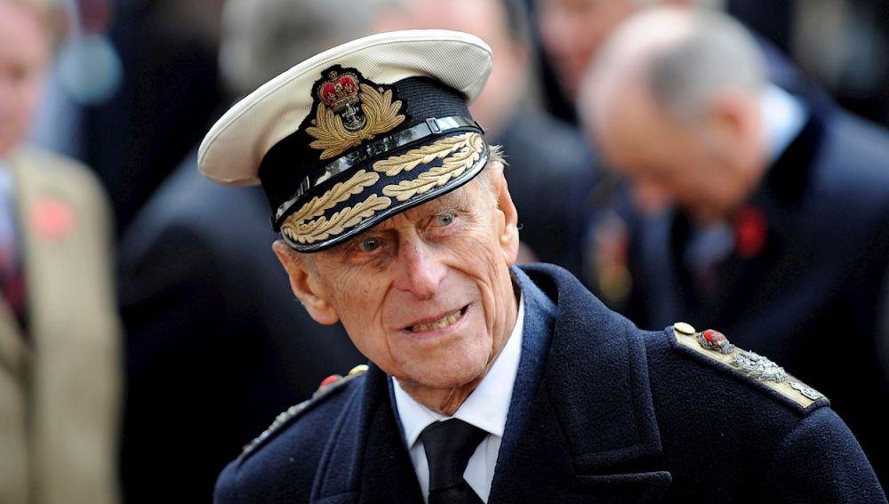 El duque de Edimburgo, el príncipe Felipe, marido de la reina de Isabel II