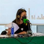 Mª Paz Martínez dirigió este viernes la última emisión en directo, desde el Hotel NH Amistad, de La Barraca de Onda Cero 2021