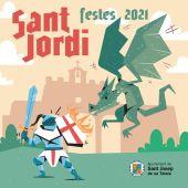 Arranca el programa de fiestas de San Jordi con una actuación de magia