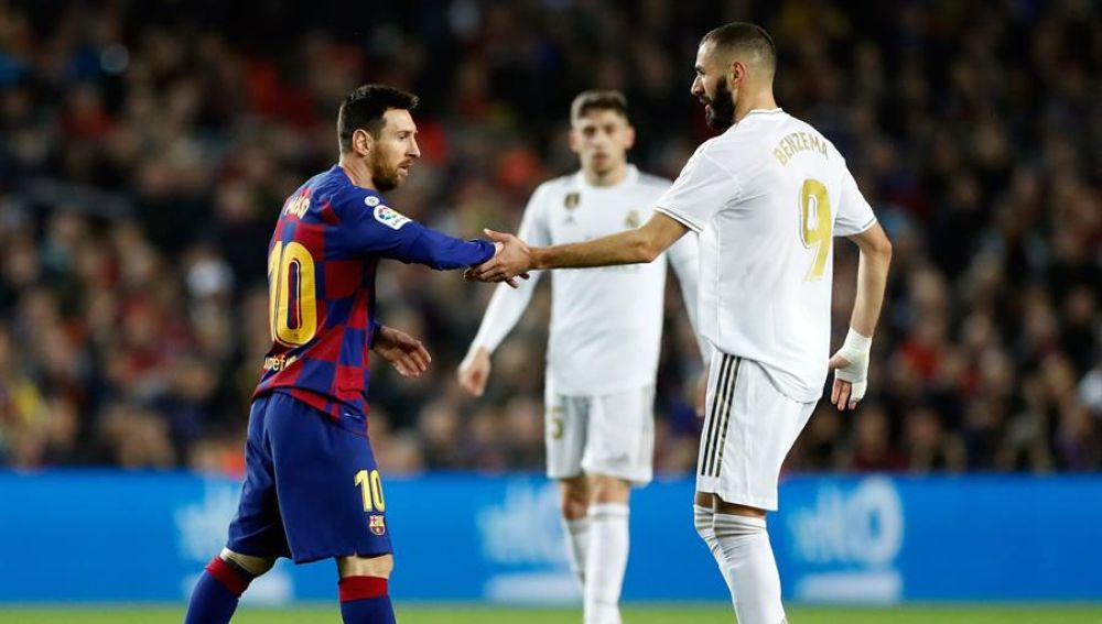 Messi y Benzema