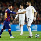 Messi y Benzema