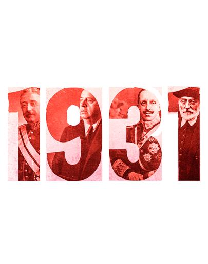 1931: Proclamación de la Segunda República
