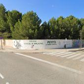 Cruce de las calles Camí de Ca Na Gabriela y la carretera militar, en s'Arenal.