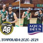 Aquadeus apuesta una vez más por el deporte y renueva su colaboración con el Albacete Basket