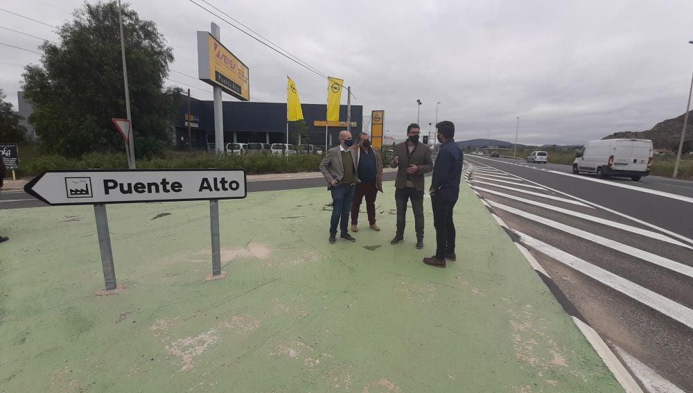 Entre las actuaciones subvencionadas se encuentra la eliminación de un punto negro de tráfico en el acceso al polígono Puente Alto
