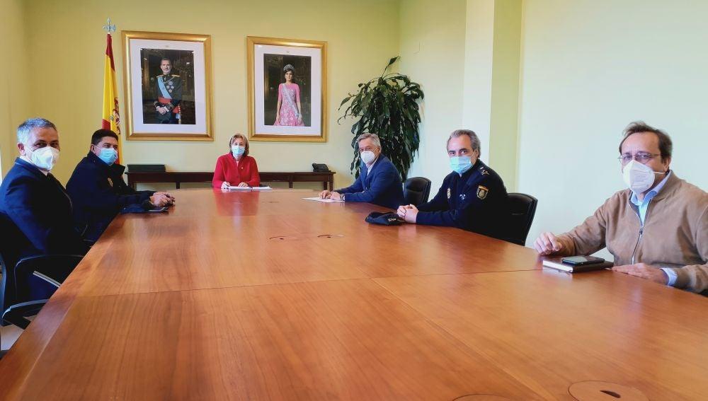 Reunión de seguridad con vistas al derbi asturiano
