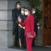 El error de protocolo que ha hecho que nadie reciba a la reina Letizia en el Congreso