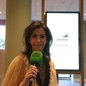 Elena Martínez, directora de Laboral Kutxa en León