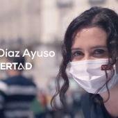 Isabel Díaz Ayuso en su vídeo de campaña