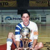 Juan Galo, jugador de fútbol sala
